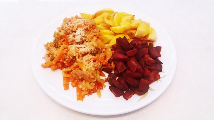 quinioa cu legume